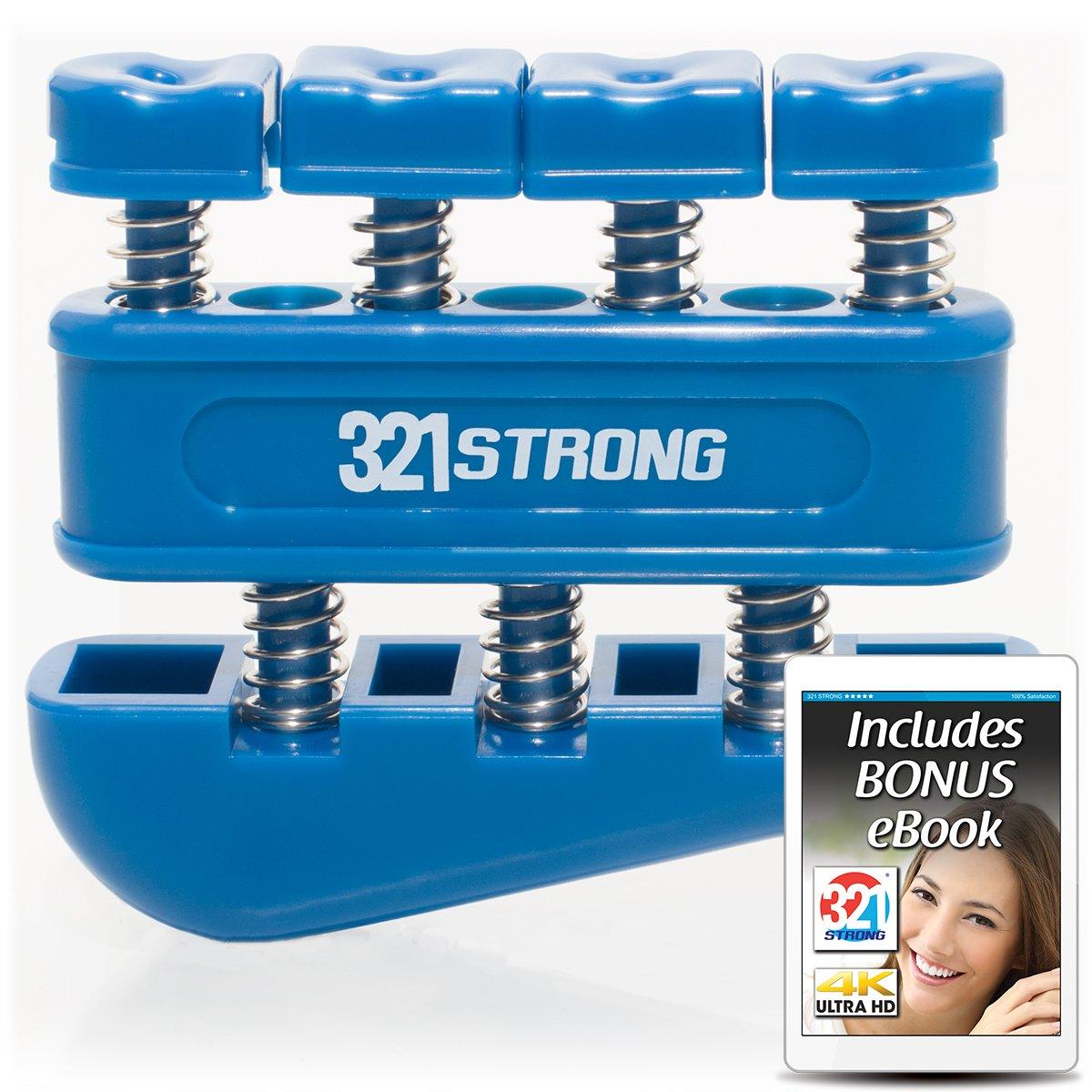 321 STRONG Finger Strengthener Gripper for Guitar by 321 STRONG