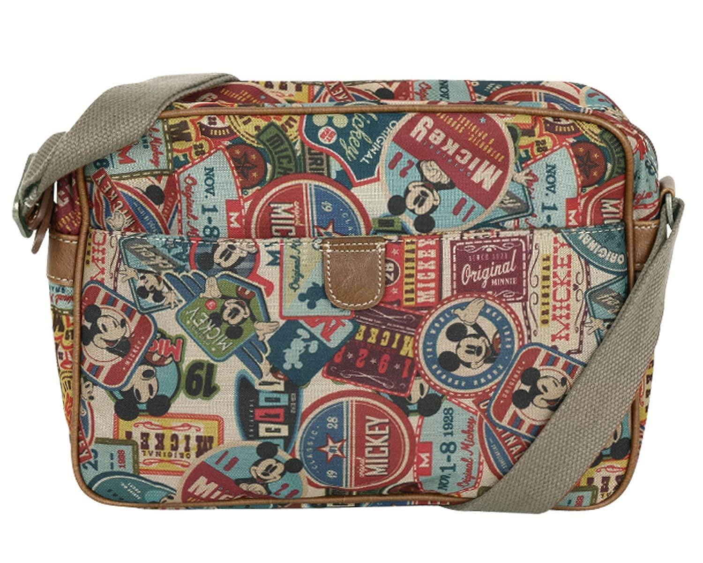 ililily X Disney Mickey Label Pattern Bag Shoulder Bag