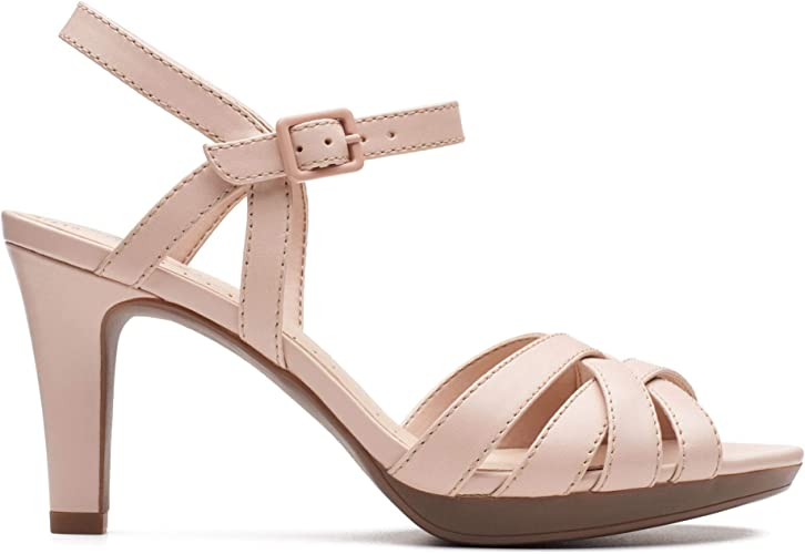 Clarks Adriel Wavy Sandals Women Rose