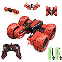 Apsung RC Stunt Car, Remote Control Car for Kids, 4WD Trucks RC Crawler Vehicles Toys 360° Flips Rotation Off Road for…