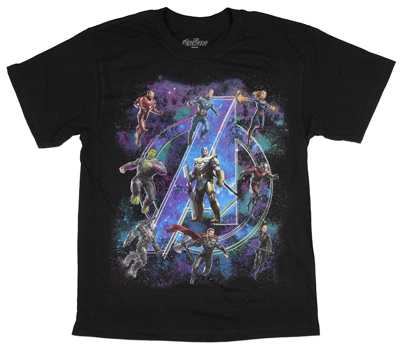 Tops T Shirts Shirts Clothing Marvel Boys Avengers