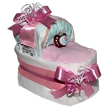 """★ Windeltorte /""""Fußball/""""  ★ ein tolles Geschenk zur Taufe Geburt Babyparty"""