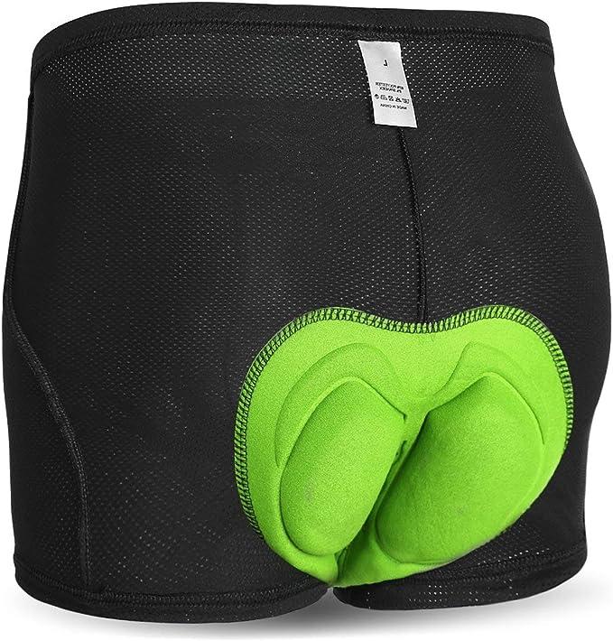 Herren Damen Fahrradhose UnterwäscheRadfahren Shorts mit Gel 3D Gepolstert