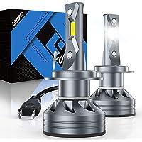 Fahren H7 LED Headlight Bulbs, 60W 10000 Lumens Super Bright LED Headlights Conversion Kit 6500K Cool White IP68…