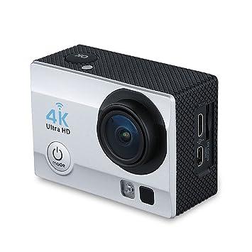 """Q6 - Cámara Deportiva 4K Impermeable DV (2.0"""" LCD, WIFI, 16Mp,"""