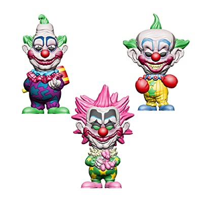 Funko Pop! Bundle of 3: Killer Klowns from Outer Space - KKOS - Jumbo, Shorty and Spikey: Toys & Games