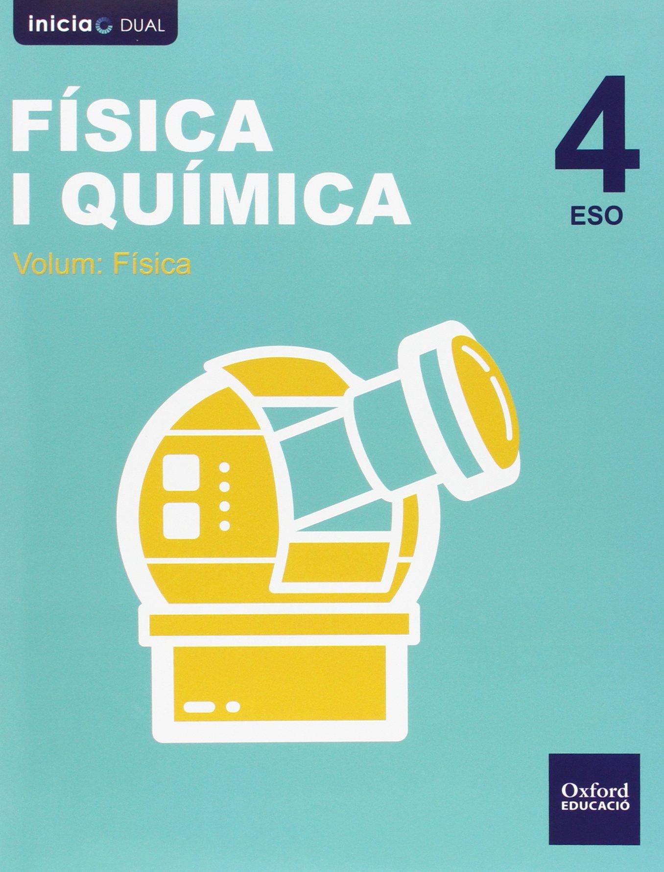 Pack Inicia Dual Física Y Química. Libro Del Alumno. Valenciano - 4º ...
