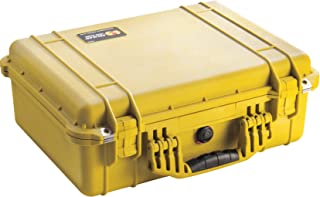 product image for Pelican 1500 Camera Case With Foam (Yellow)