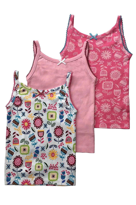 Mini Vanilla Girls 3 Pack of Printed Vests MV 4071
