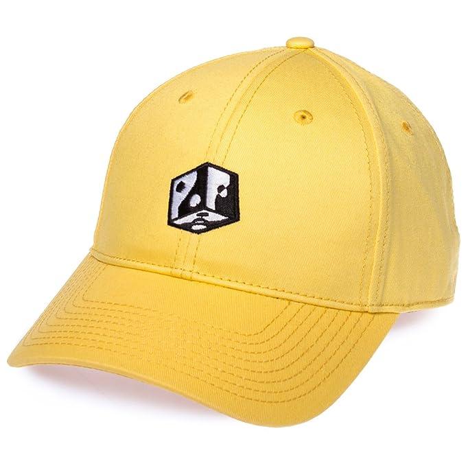 Grimey Gorra Half Court Line Curved FW17 Yellow-Strapback: Amazon.es: Ropa y accesorios