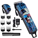 Professional Cordless Hair Clippers Beard Trimmer For Men Kids Wireless Hair Cutting Kit Set with Taper Lever…