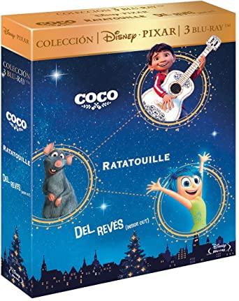 Pack: Coco (BD) + Ratatouille + Del Revés [Blu-ray]: Amazon.es: No ...