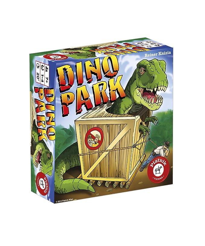 Piatnik Dino Park Niños Juego de Azar - Juego de Tablero ...