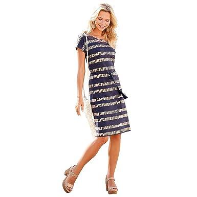venta minorista b5250 1ca9d VENCA Vestido Bordado étnico en el Escote Mujer by Vencastyle - 023492