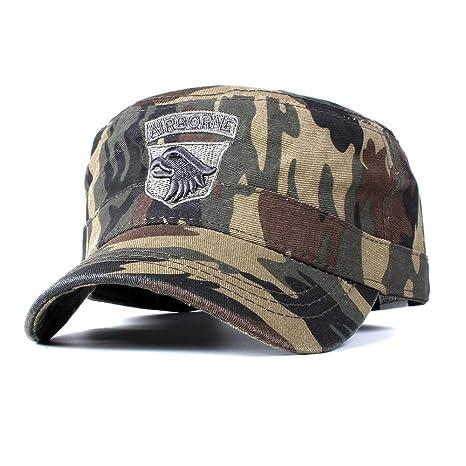 DAMENGXIANG Fuerza Aérea Táctica De Moda Gorras De Béisbol para Ms Hombres Algodón Army Camuflaje Cap