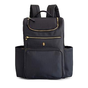 Mochila porta pañales de diseño Gallivant de Idaho Jones, con correas para el carrito, cambiador y bolsillo térmico para botellas: Amazon.es: Bebé