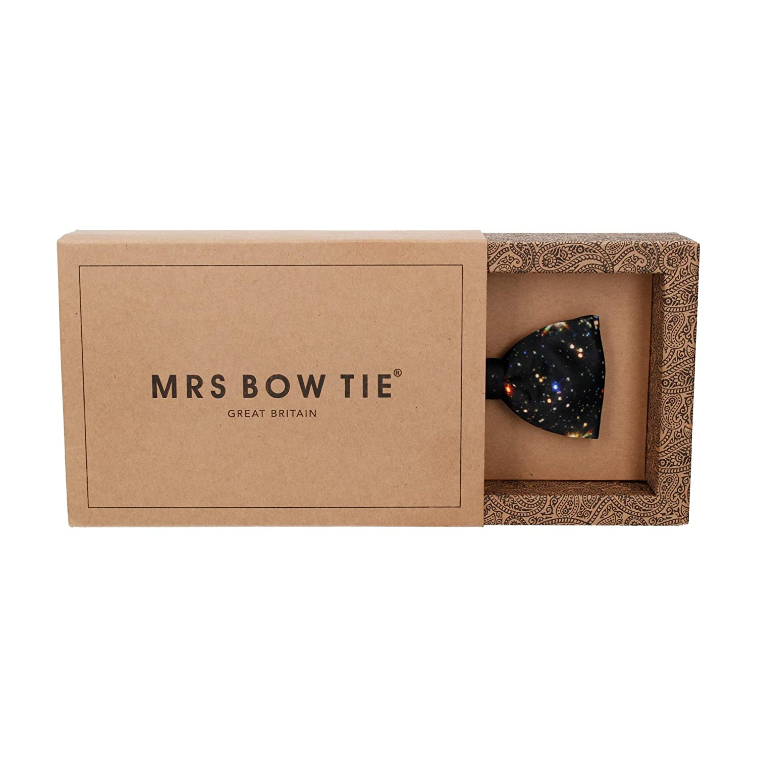 Self Tying Bow Ties Mrs Bow Tie Deep Space Quirky Pre Tied