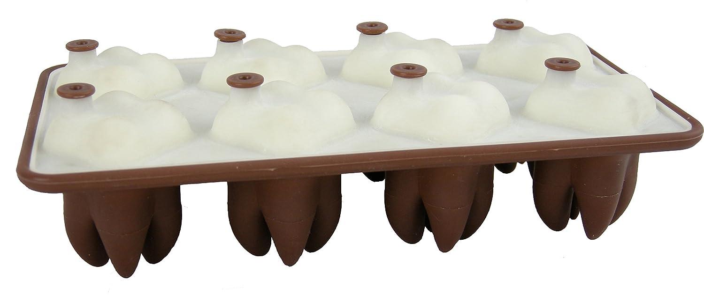 liliro Molde con Forma de muela de Chocolate - Molde para 8 Dientes: Amazon.es: Hogar