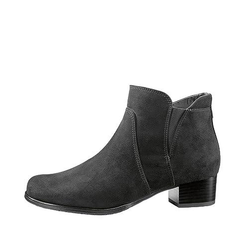 Jenny Ladies Ankle Boots 22 63627 61 Black: Amazon.co.uk