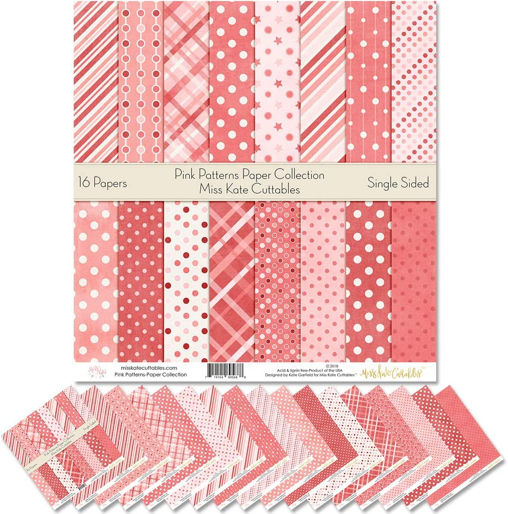 Lot of 8 Star 12 x 12 Scrapbook Papers acid /& lignin free red white blue