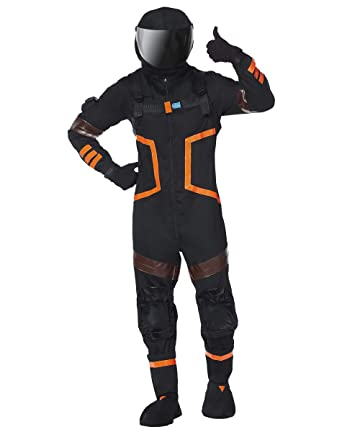 spirit halloween adult fortnite dark voyager costume m