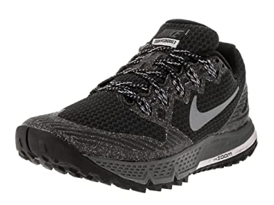 6d454d1b00b56 Nike Women s Air Zoom Wildhorse 3 Running Shoe Black Wolf Grey Cool Grey