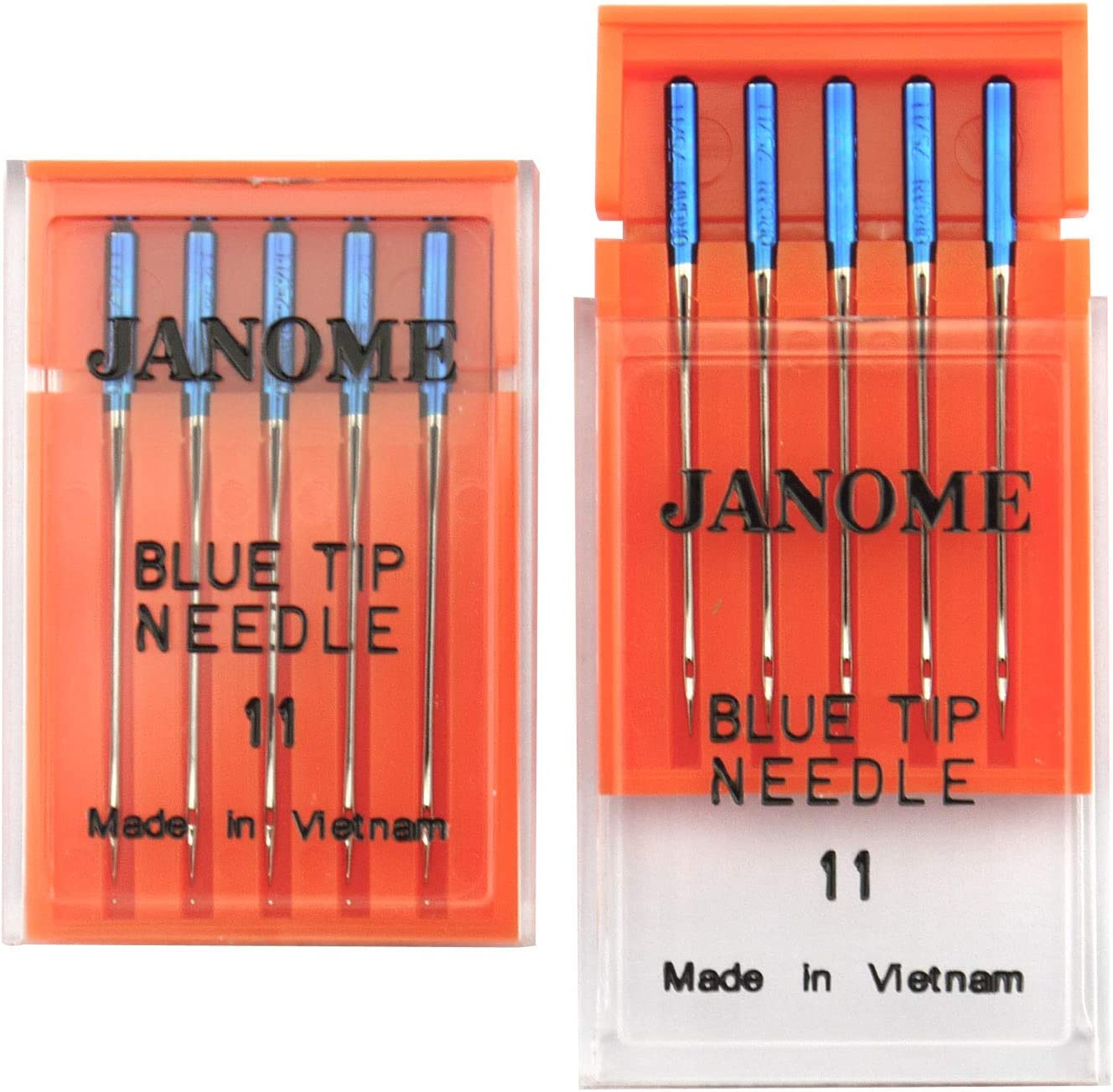 DREAMSTITCH 990311000 10 PCS Blue Tip Blue Stitch Needles Size 11 Number 990311000 for Janome 990311000