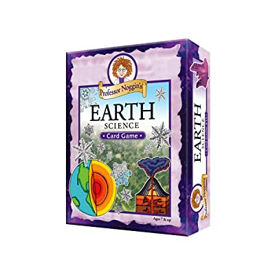 Educational Trivia Card Game - Professor Noggin's Earth Science: Toys & Games