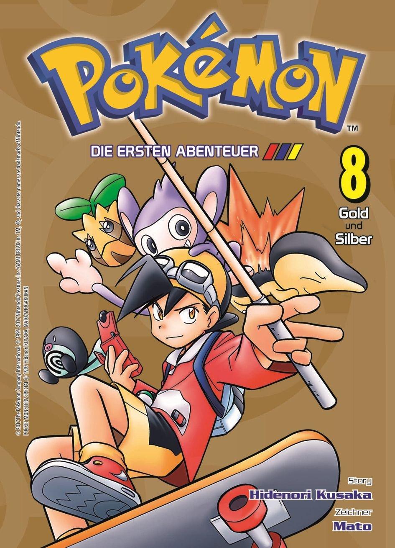 Pokémon - Die ersten Abenteuer: Bd. 8: Gold und Silber