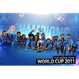Athahdesigns Wall Poster Indian Cricket Team Winning World Cup