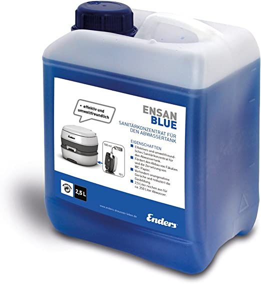 Ensan Blue Liquido Sanitario Per Wc Chimico 2 5l Amazon It