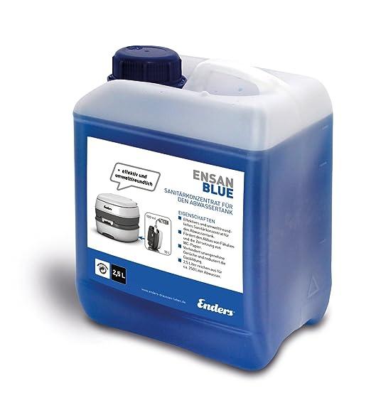 15 opinioni per Ensan Blue Liquido sanitario per WC chimico 2,5l
