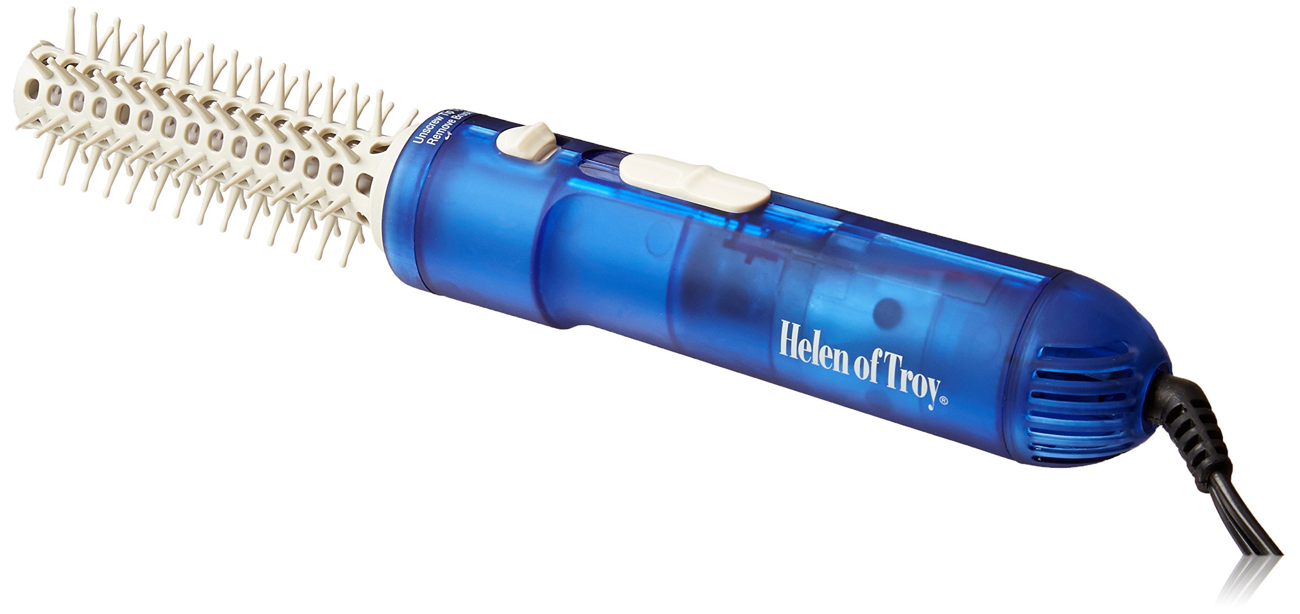 Helen of Troy 1579 Tangle Free Hot Air Brush, White, 3/4 Inch Barrel
