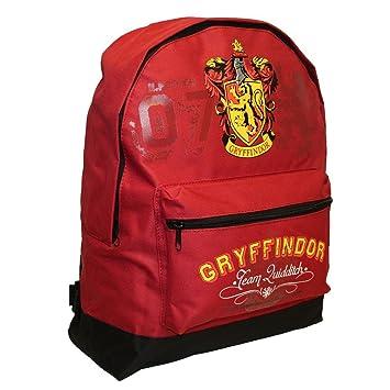 Harry Potter Backpack Mochila Infantil, 39 cm, 13000 Liters, Negro (Red): Amazon.es: Equipaje