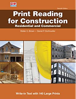 Blueprint reading for construction 2nd edition james a s print reading for construction residential and commercial malvernweather Choice Image