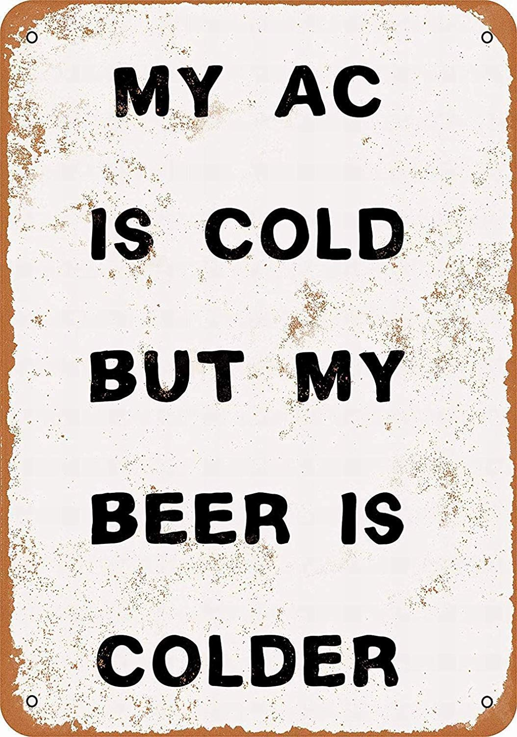 HALEY GAINES My Beer Is Colder Placa Cartel Póster de Pared ...