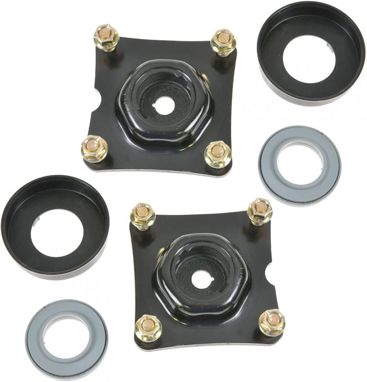 Front Upper Strut Mount w// Bearing Left /& Right Pair Set of 2 for Volvo V70