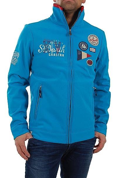Chaqueta para hombre Gaastra Barrot St, Barth talla XXL EIA 149, 95 euros 35300043 016 chaqueta azul: Amazon.es: Ropa y accesorios