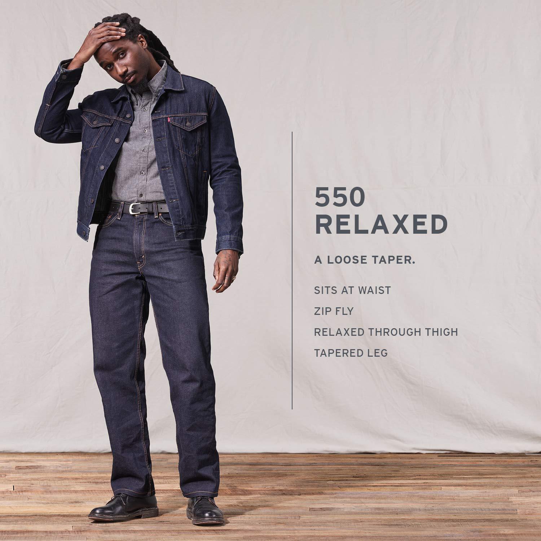 Jeans Men's Fit Medium Stonewash Relaxed Levi'sMens 550¿ vNwn0m8