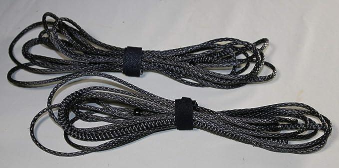 8ft Ultralight Whoopie Slings Amsteel Silver USA 8/' Hammock Suspension