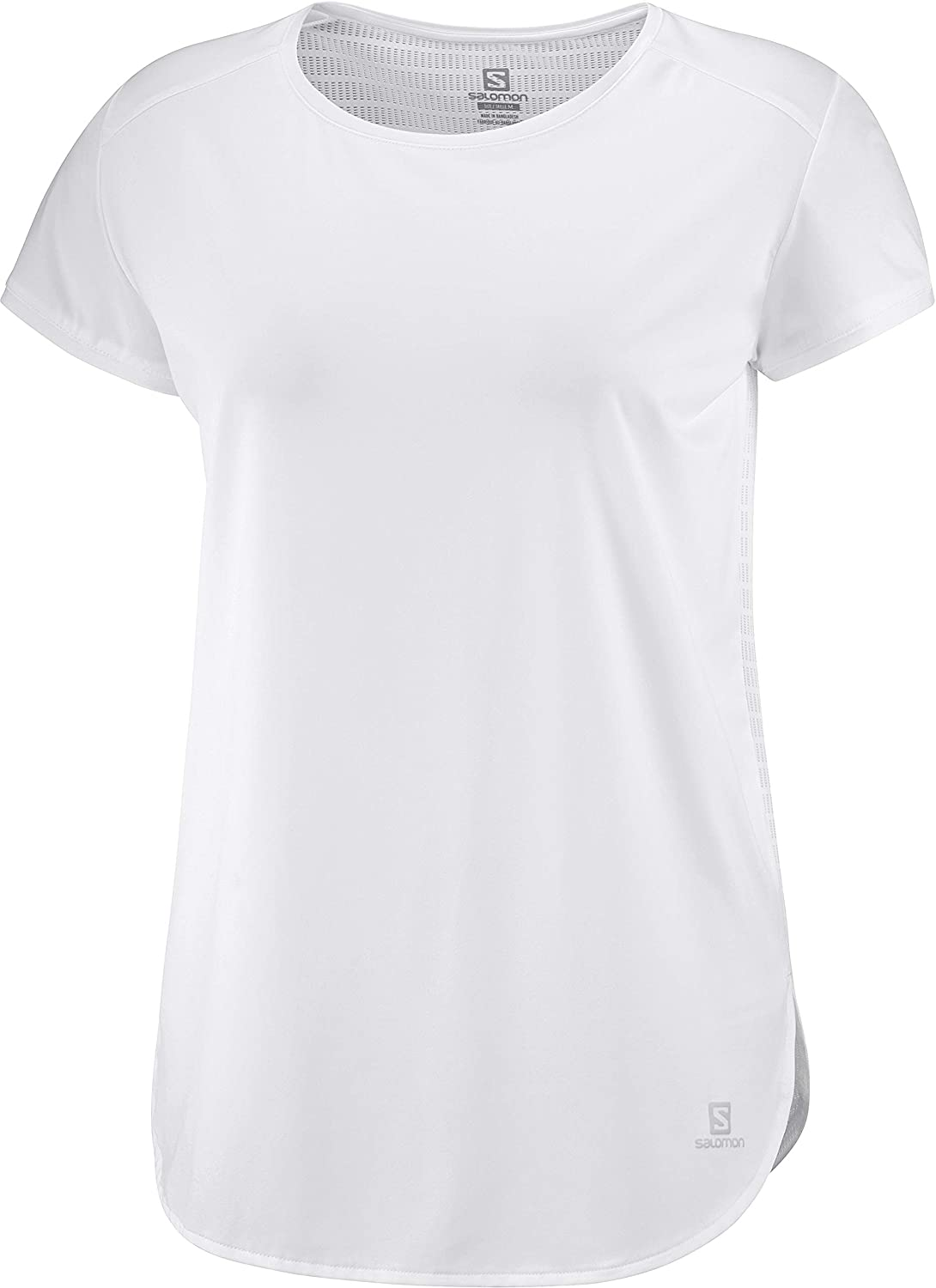 SALOMON Comet Breeze W Camiseta de Manga Corta, Mujer, Blanco (White), 2XL: Amazon.es: Deportes y aire libre