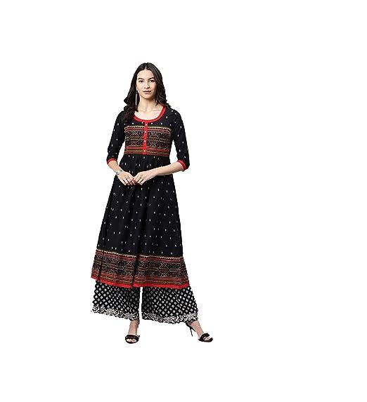476d5002c0ac0 Amazon.com: Hiral Designer Mall Womens Kurta Indian Kurtis Dresses ...