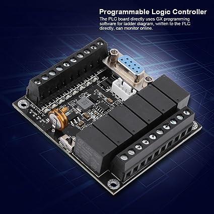 Programmable Logic Controller PLC Industrial Programmable Control Board  FX1N-14MR Relay Controller Module