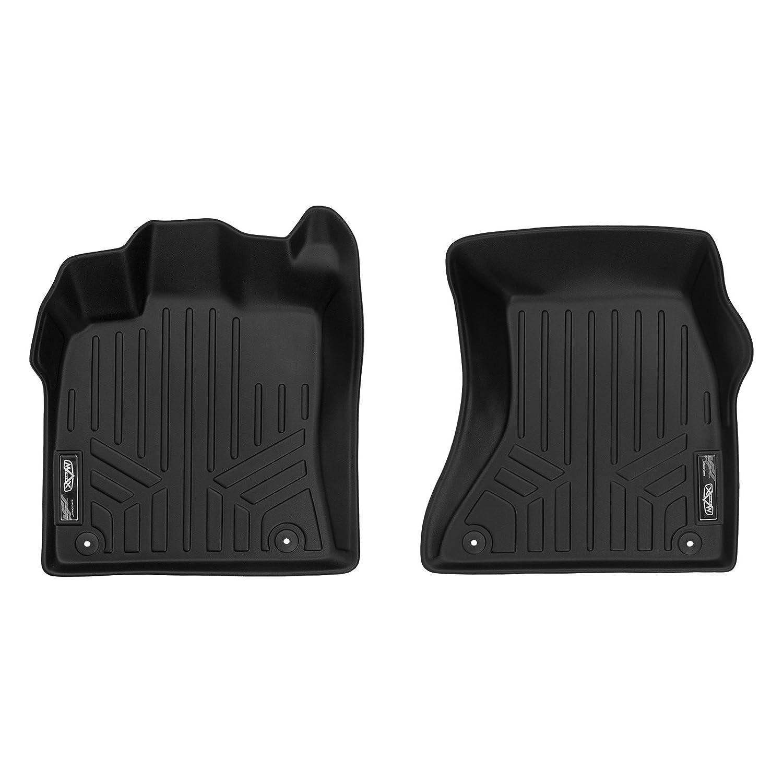 2014-2017 SQ5 SMARTLINER Custom Fit Floor Mats 1st Row Liner Set Black for 2009-2017 Audi Q5 2014-2018 Porsche Macan