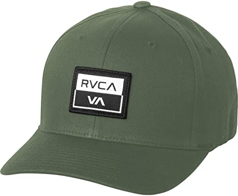 buy online f2613 f4b3e Amazon.com  RVCA Men s Metro Flexfit Hat  Clothing