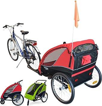 Papilioshop B-Fox Fox - Remolque de bicicleta, para el transporte ...