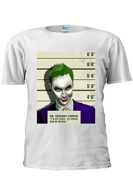 Camiseta unisex Dr. Sheldon Cooper contra Joker: Amazon.es: Ropa y accesorios