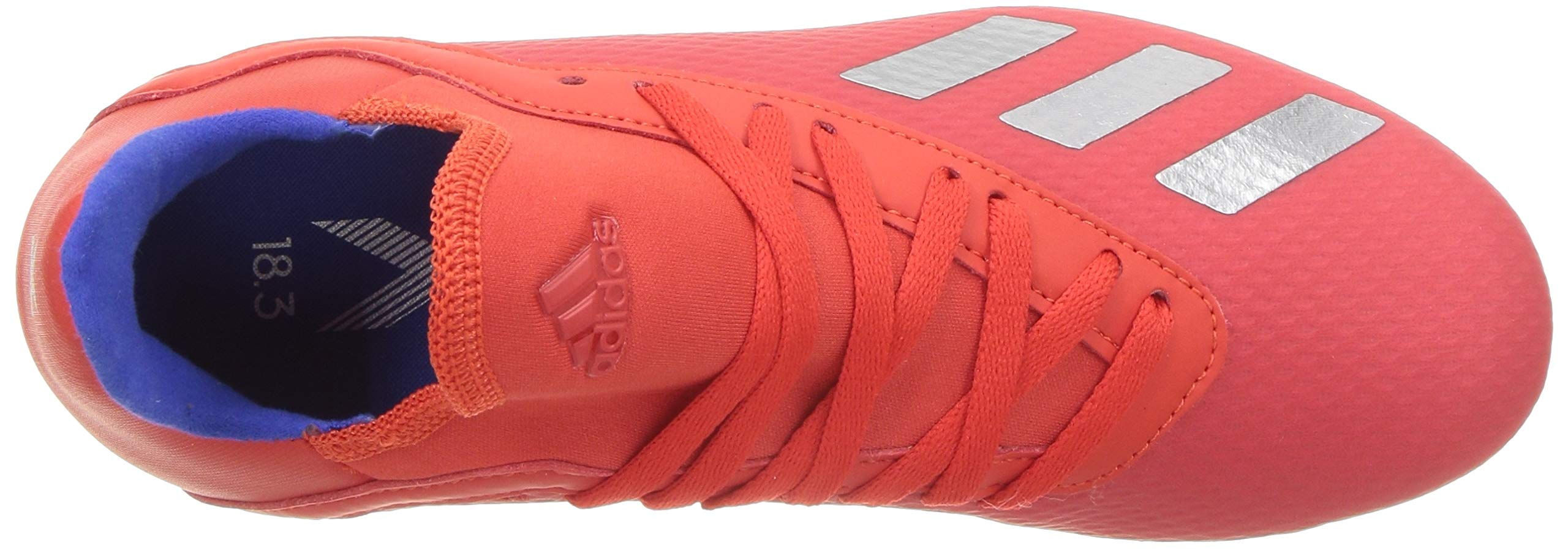 adidas X 18.3 Firm Ground, Active red/Silver Metallic/Bold Blue 13K M US Little Kid by adidas (Image #11)