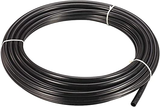 black MATTOX Size 1//4 Inch,5 Meters 16 feet Length Tubing Hose Pipe for RO Water Filter System