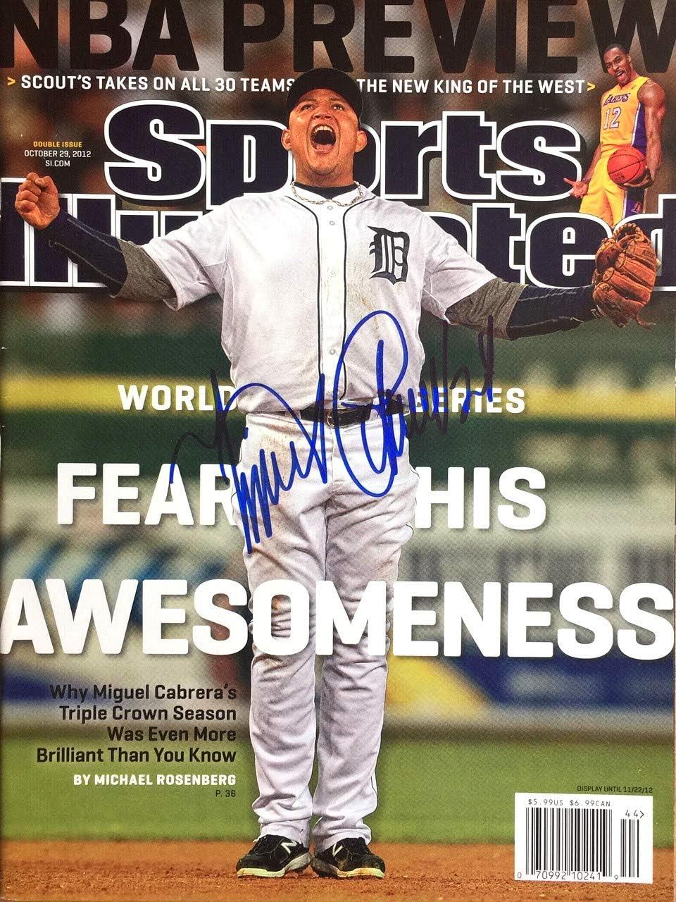 Miguel Cabrera Detroit Tigers Autograph Signed Custom Framed ...